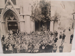"""Italy Italia Foto Da Identificate """"Giugno 1904. I Cento Anni Del Liceo Dante A.""""  16 X 12 Cm. - Otros"""