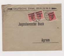 GERMANY  1923 BERLIN Nice  Cover To Yugoslavia - Covers & Documents
