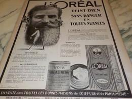 ANCIENNE PUBLICITE TEINT BIEN  L OREAL 1921 - Other