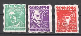 SBZ , Nr. 20-22 Postfrisch - Zone Soviétique