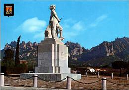 Spain Montserrat Monastery El Timbaler D'El Bruc Statue - Barcelona