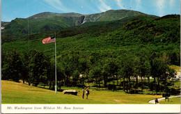 New Hamshire Jackson Pinkham Notch Mt Washington From Wildcat Mt Base Station 1968 - White Mountains