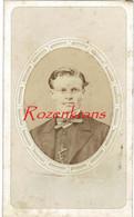 Ancienne Old Photo Carton CDV Portrait Carte De Visite Photographe Auguste Josset Gisors Homme Man 19e Oude Foto - Unclassified