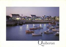 QUIBERON - LA PRESQU'ILE DE QUIBERON - PORT MARIA A LA TOMBEE DU JOUR - Quiberon