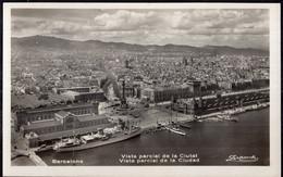 España - Tarjeta Postal - Circa 1930 - Barcelona - Vista Parcial De La Ciudad - No Circulada - A1RR2 - Barcelona