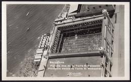 España - Tarjeta Postal - Circa 1930 - Barcelona - Piscina Desde La Torre De San Sebastian - No Circulada - A1RR2 - Barcelona