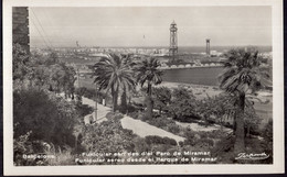 España - Tarjeta Postal - Circa 1930 - Barcelona - Funicular Aereo Desde El Parque De Miramar - No Circulada - A1RR2 - Barcelona