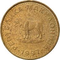 Monnaie, Macédoine, Denar, 1997, TB+, Laiton, KM:2 - Macedonia