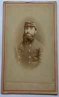 CDV. Portrait D'un Homme. Militaire. 1871. - Oud (voor 1900)