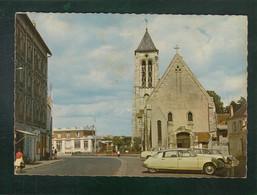 CP - 91 - Corbeil-Essonnes - Eglise - Citroën DS - Corbeil Essonnes