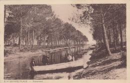 BISCAROSSE-PLAGE (Landes): Navarosse (barque) - Biscarrosse