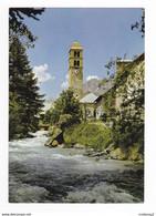 05 LE CASSET Vallée De La Guisane N°1143 Eglise Du Village Vers Le Monétier Les Bains Briançon - Briancon