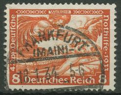 Deutsches Reich 1933 Deutsche Nothilfe Wagner 503 A Mit TOP-Stempel - Oblitérés