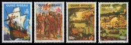 Guinea-Bissau 1987 - Mi-Nr. 914-917 ** - MNH - Schiffe / Ships - Columbus - Guinea-Bissau
