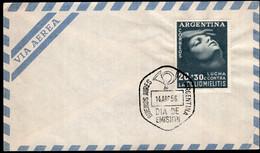 Argentina - 1956 - FDC - Lucha Contra La Polio - A1RR2 - Gebruikt