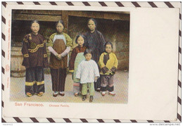 5AH2045 SAN FRANCISCO CHINESE FAMILY  2 SCANS PRECURSEUR - San Francisco