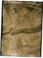 Vue D'avion Aerienne Bombe 14-18  Repérage WW1 BICHANCOURT 18e CA SPA 42 Paysage à Situer Identifier Terre Vue Du Ciel - Aviation