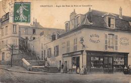 CHANTILLY - Angle Des Rues De Paris Et Canardière - Très Bon état - Chantilly