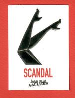 F-  Carte  à Sprayer J.P Gaultier - Scandal    Perfume Card - Modern (from 1961)