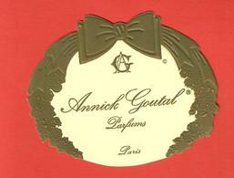 F-  Grande Carte Annik Goutal (largeur 12,5 Cm) -   Perfume Card - Modern (from 1961)