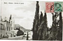 CTN70 - ITALIE BUREAU DE RODI CPA POUR ATHENES 14/10/1925 - Egée (Rodi)