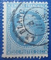 R1311/109 - NAPOLEON III Lauré N°29A - SUPERBE CàD : LE BLANC (Indre) Du 4 JUILLET 1968 - 1863-1870 Napoléon III. Laure