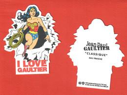 F- Carte à Sprayer  JP Gaultier -Classique Eau Fraiche -     Perfume Card - Modern (from 1961)