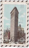 5AH2071 FLAT IRON BUILDING  NEW YORK CITY 2 SCANS - Zonder Classificatie