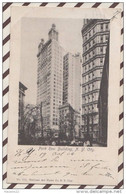 5AH2072 PARK ROW BUILDING  NEW YORK CITY 2 SCANS - Zonder Classificatie