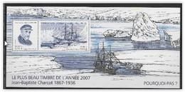 France 2008 Bloc Souvenir N° 34 Neuf Charcot - Souvenir Blocks & Sheetlets