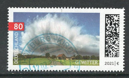 Duitsland 2021 Mi 3613 Gewitter,  Gestempeld - Used Stamps