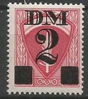 France 1948 - TR 19 - Fiscaux Pour Permis Militaire Zone D'Occupation Allemagne - Revenue Stamps