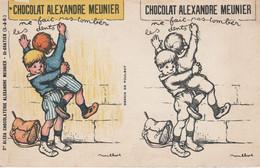 95 - SAINT GRATIEN - Sté Alexa Chocolaterie Alexandre Meunier (dessin De Poulbot) - Saint Gratien