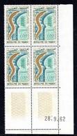 MAROC YT-N°: 449 - Inauguration De L'Aquarium De Casablanca, Coin Daté Du 28.09.1962, 1er Tirage, NSC/**/MNH - Marokko (1956-...)
