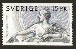 2005Sweden2482250th Banknote Printing Tumba Brook - Neufs