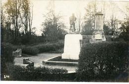 14-18.WWI - Carte Photo Allemande - Feindesland ( Meuse Aisne Argonnen ?) Frankreich Monument - Guerre 1914-18
