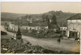 14-18.WWI - Carte Photo Allemande - Feindesland ( Meuse Aisne Argonnen ?) Frankreich Soldaten - Guerre 1914-18