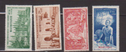 MAURITANIE     N°  YVERT  PA 6/9   NEUF SANS  CHARNIERE   (NSCH 3/29 ) - Unused Stamps
