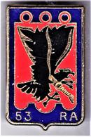 53° RA. 53° Régiment D'Artillerie. Delsart.2225. Faux N° Homologation. - Army