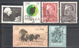 Poland 1951-60 - Mix Stamps Set - Used, MNH - Usati