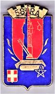 58° RA. 58° Régiment D'Artillerie. Delsart.2240. 1 Aiguille à Ressort. - Army