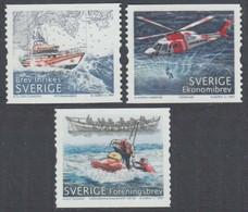 2007 Sweden 2575-2577 Lifeguard Transport 4,50 € - Neufs