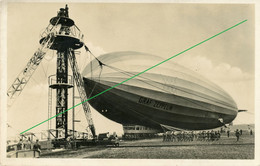 - Carte Photo Allemande -  Graf Zeppelin  Frankfurt Am Main - Guerre 1914-18