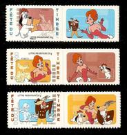 2008 - Fête Du Timbre  TEX AVERY NEUFS  ** LUXE  4149 A/ 4151 A Ou  ADHESIFS 160 A /162 A - Nuevos
