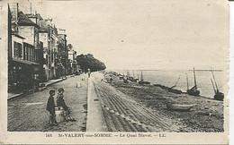 X121540 SOMME ST SAINT VALERY SUR SOMME LE QUAI BLAVET - Saint Valery Sur Somme