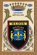 BLOIS  (41) : ECUSSON BLASON ADHESIF  (CPM) Double Face - Blois