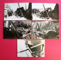 28 Hameau De Chavannes Lèves RRRARE 26 Avril 1930 Crash Avion Goliath 5 Carte-photos Sans éditeur Voir Dos - Lèves