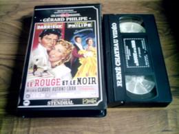 Vhs Cassette Vidéo Le Rouge Et Le Noir René Chateau Années 50 - Classici