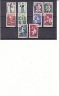 France - Réunion - Yvert 357/8 + 378/9 + 381/2 + 391/2 + 404/5 ** - Croix Rouge - Valeur 28,60 Euros - Unused Stamps