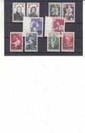 France - Réunion - Yvert 362/3 + 378/9 + 381/2 + 391/2 + 404/5 ** - Croix Rouge - Valeur 25,30 Euros - Unused Stamps